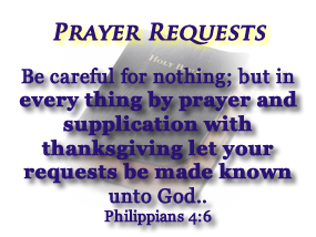 Prayer Requests | Healing Rooms of Halifax Ministries - a